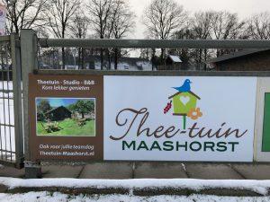 Theetuin Maashorst sponsort DAW