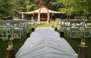 Bruiloft in de Theetuin