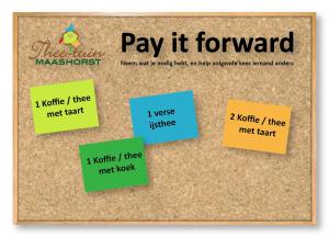 Lees meer over het artikel Pay it forward